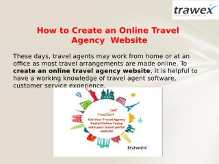 How to create an online travel agency.pptx