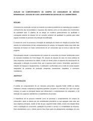 ANÁLISE DO COMPORTAMENTO DE COMPRA DO CONSUMIDOR DE IMÓVEIS .doc