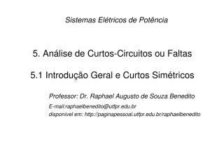SEP 1 - Cap 5.1 Analise de Curtos Simetricos.pdf