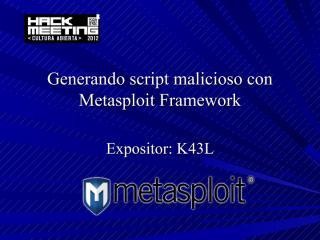 generando script malicioso con metasploit framework.pdf