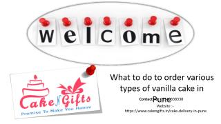 What to do to order various types of vanilla cake in Pune.pdf