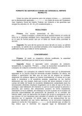 FORMATO DE SENTENCIA CUANDO SE CONCEDE EL AMPARO INDIRECTO..rtf