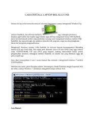 CARA INSTALL LAPTOP MELALUI USB.docx