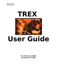 Trex User Guide.doc