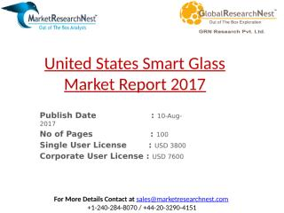 United States Smart Glass Report 2017.pptx