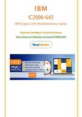 C2090-645 Real Practice Test.pdf
