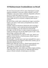 10 Multinacionais Estadunidenses no Brasil.doc
