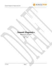 Requirement doc for Summit Diagnostics App_Version 1.2(Latest).doc