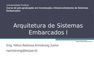 aula 1 - arquitetura de sistemas embarcados i.pptx