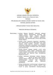 UU NO 2 TH 2014 TTG PERUBAHAN UUJN 30 TH 2004.doc