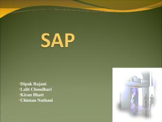 SAP ERP  presentation (KIRAN , LALIT, CHINTAN, DEEPAK).ppt