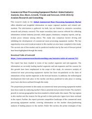 Commercial Meat Processing Equipment Market.pdf