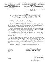 To trinh  01 CONG NHAN AP VH, CO SO, TRUONG VAN MINH .doc
