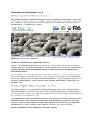 Nutraceutical Contract Manufacturers Part - 3.pdf