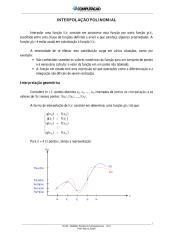 MNC - 6 - Interpolacao Polinomial - 2013 - BCC.pdf