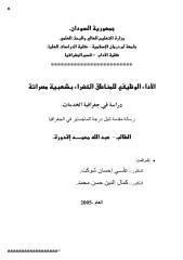 رسالة ماجستير الاداء الوظيفي للمناطق الخضراء بشعبية مصراتة دراسة في جغرافية الخدمات ـ جامعة ام درمان.pdf