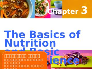 Chapter 3 - The Basic of Nutrition and Food Science.ppt