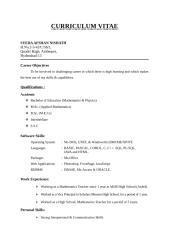 CV of Afshan2.doc