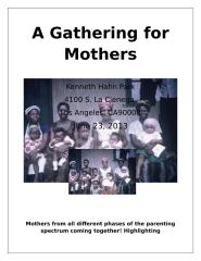 A Gathering for Mothersflier.docx