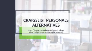 Craigslist personals alternatives.ppt