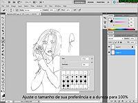 Tutorial   Colorindo desenhos no Photoshop CS5.avi