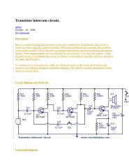 transistor intercom circuit.docx