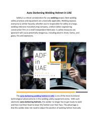 ADF in UAE, the best Safety helmet in UAE.pdf